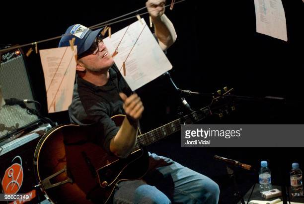Kurt Wagner performs on stage at Sala Apolo on October 20 2007 in Barcelona Spain