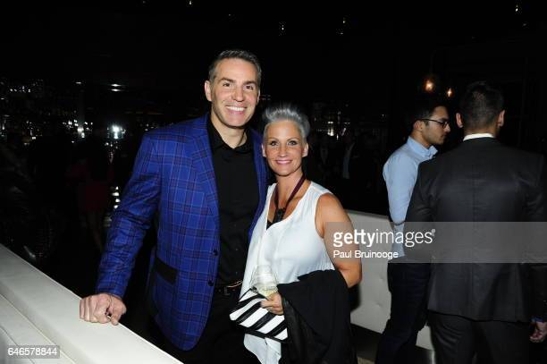 Kurt Warner and Brenda Warner attend Lionsgate Hosts the After Party for The Shack at Gabriel Kreuther on February 28 2017 in New York City