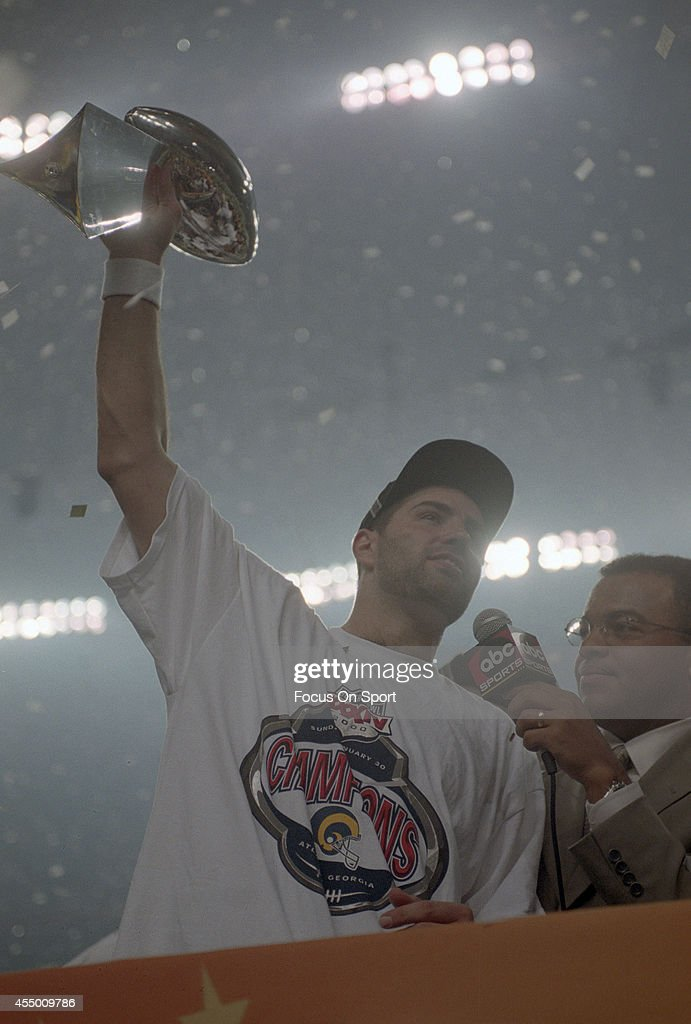 Super Bowl XXXIV - St. Louis Rams v Tennesee Titans : News Photo