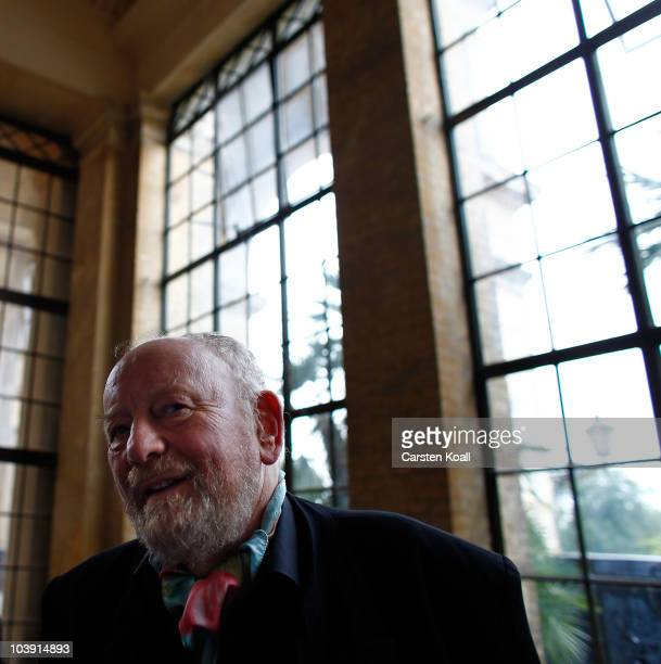 Kurt Westergaard arrives for the M110 Media Award ceremony at Sanssouci Palace on September 8 2010 in Potsdam Germany The M100 Media Prize will be...