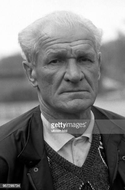 Kurt Zapf der frühere Abwehrspieler des SCEmpor und des FC Hansa Rostock auf einem undatierten Archivfoto aus dem Jahr 1990 Zapf bestritt für die...