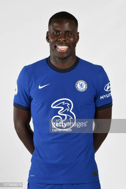 Kurt Zouma of Chelsea during a Chelsea Media Day at Chelsea Training Ground on September 11, 2020 in Cobham, England.