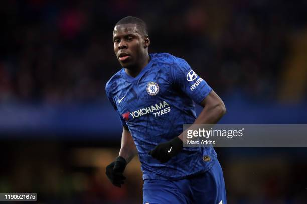 Kurt Zouma of Chelsea during the Premier League match between Chelsea FC and Southampton FC at Stamford Bridge on December 26 2019 in London United...