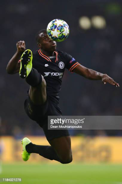 Kurt Zouma of Chelsea in action during the UEFA Champions League group H match between AFC Ajax and Chelsea FC at Amsterdam Arena on October 23 2019...