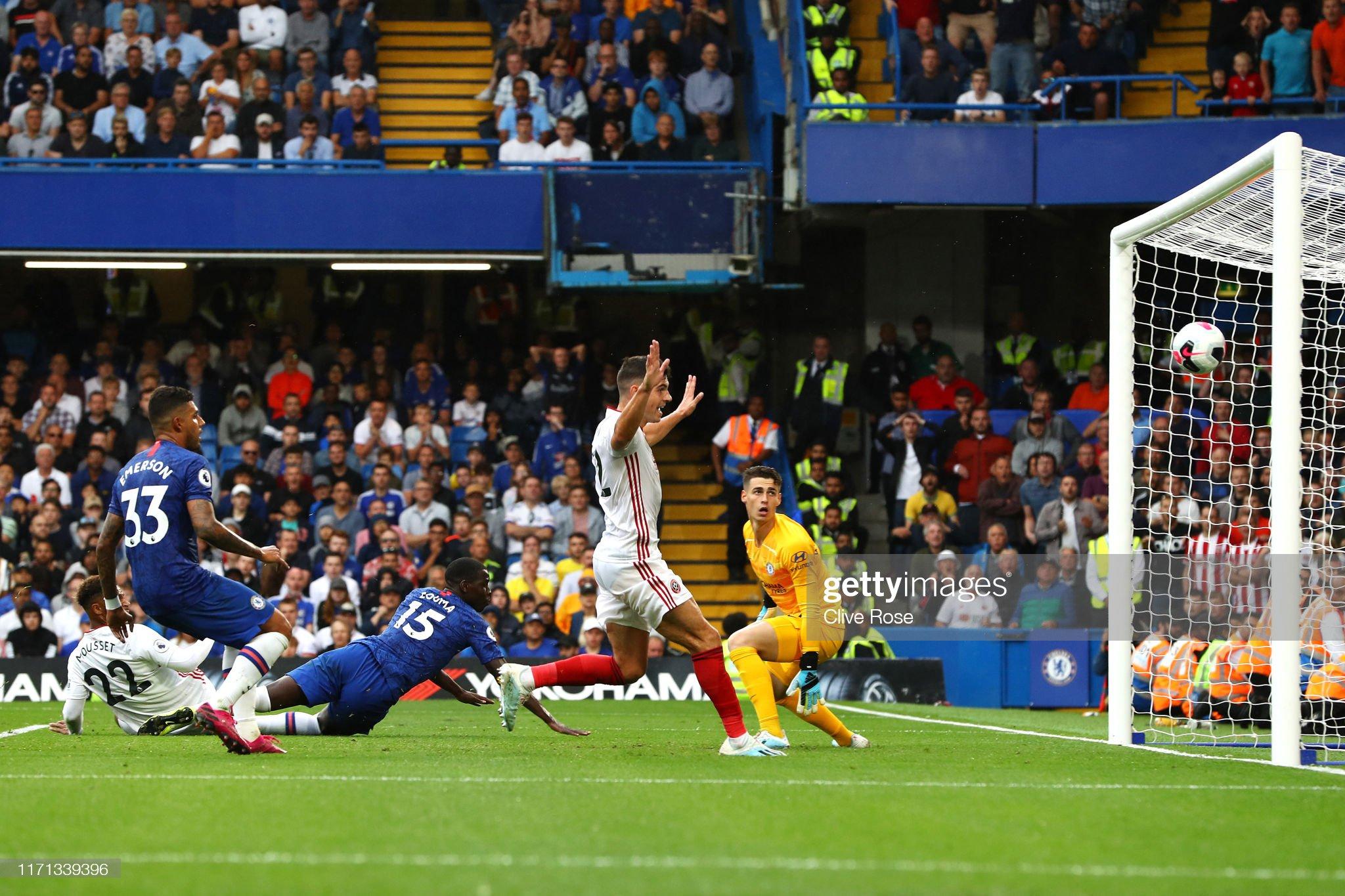 Chelsea FC v Sheffield United - Premier League : News Photo