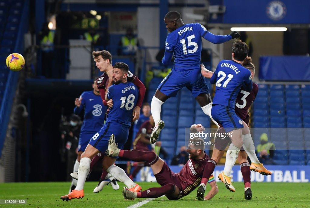 Chelsea v Leeds United - Premier League : ニュース写真