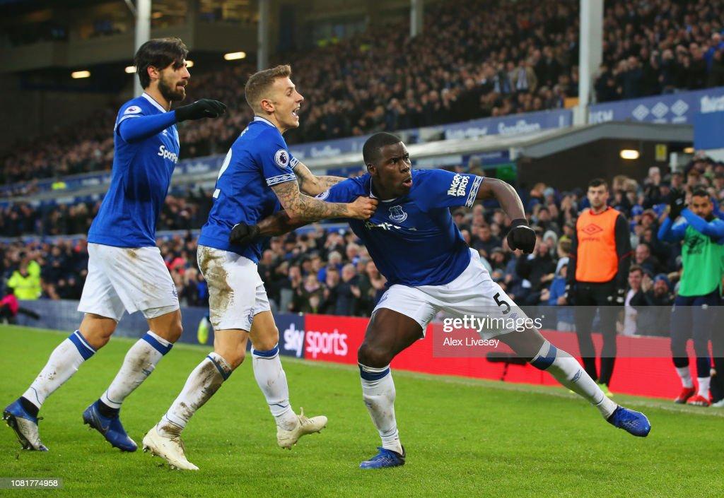 Everton FC v AFC Bournemouth - Premier League : Fotografía de noticias