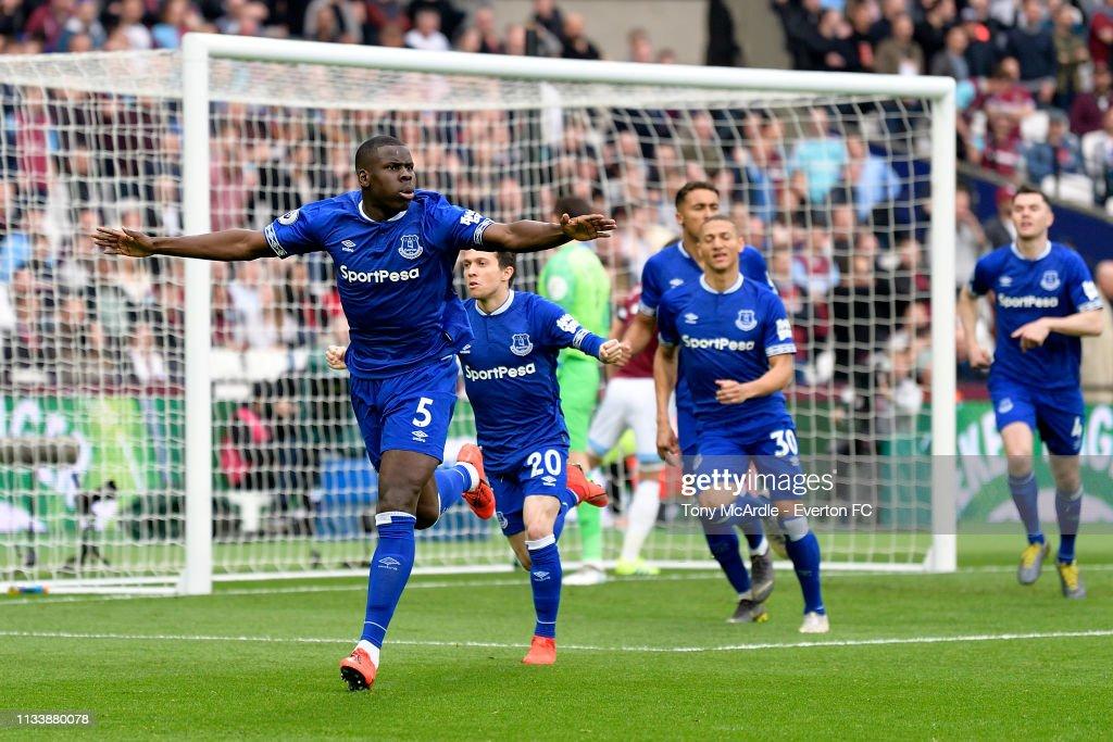 GBR: West Ham United v Everton FC - Premier League