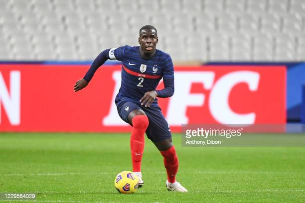 Kurt ZOUMA of France during the international friendly match between France and Finland at Stade de France on November 11, 2020 in Paris, France.