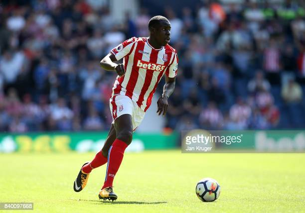 Kurt Zouma of Stoke City during the Premier League match between West Bromwich Albion and Stoke City at The Hawthorns on August 27 2017 in West...
