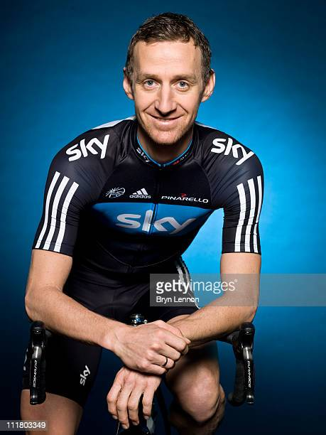 KurtAsle Arvesen of Team Sky poses for a portrait session ahead of the 2011 road season in Windsor England
