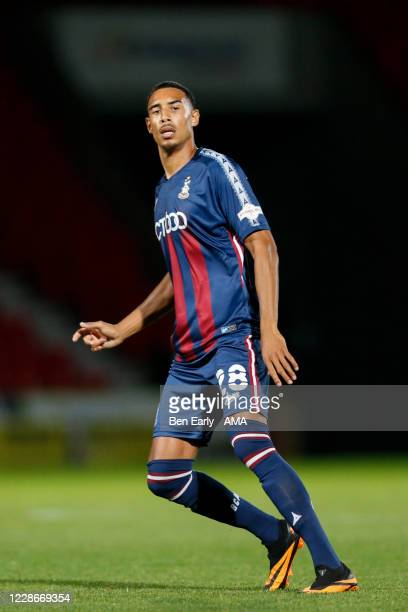 Kurtis Guthrie of Bradford City during the EFL Trophy match between Doncaster Rovers v Bradford City at Keepmoat Stadium on September 8 2020 in...