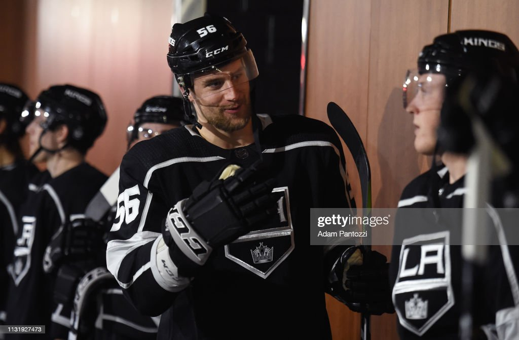 CA: San Jose Sharks v Los Angeles Kings