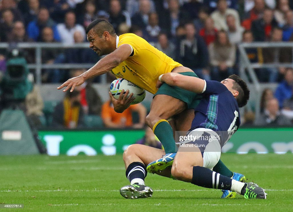 Australia v Scotland - Quarter-Final: Rugby World Cup 2015 : News Photo