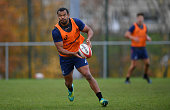 newport wales kurtley beale australia looks