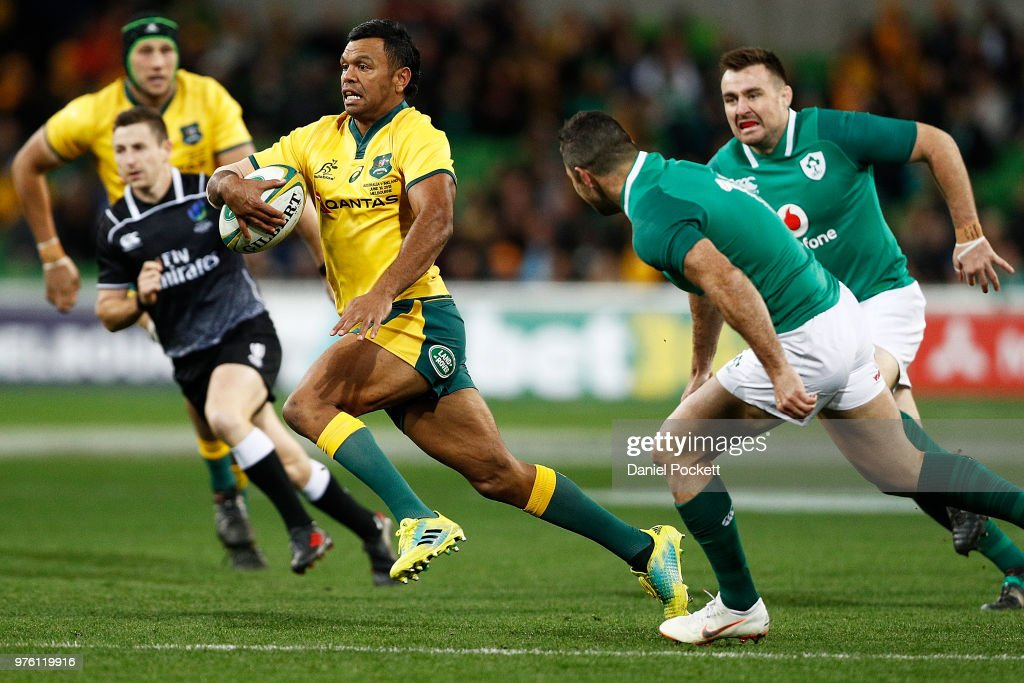 Australia v Ireland - 2nd Test : News Photo