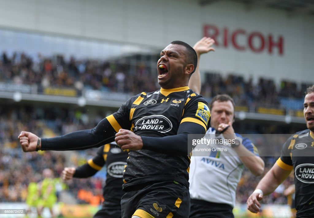 Wasps v Leicester Tigers - Aviva Premiership Semi Final : News Photo