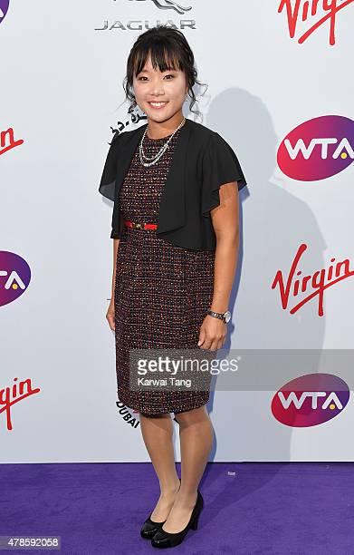 Kurumi Nara attends the WTA PreWimbledon Party at Kensington Roof Gardens on June 25 2015 in London England