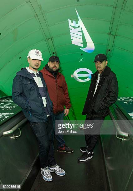 Kurupt FM attend NikeLab x Roundel launch at Charing Cross underground Station on November 9 2016 in London England