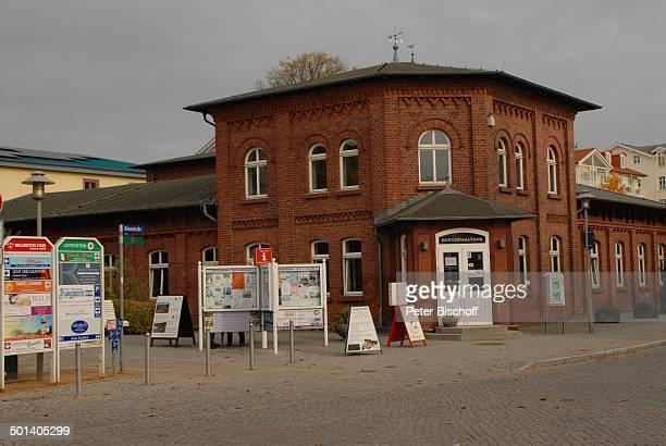 Kurverwaltung, Ostseebad Zinnowitz, Ostsee-Insel Usedom, Mecklenburg-Vorpommern, Deutschland, Europa, Ostseeinsel, Reise, DIG, AS, ; P.-Nr.:...