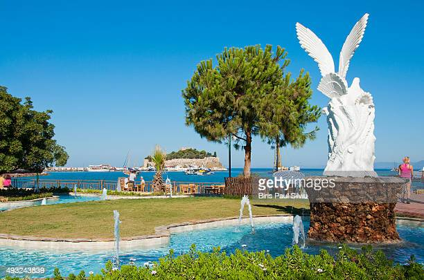 CONTENT] Kusadasi Centre Park and Pigeon Island in backgroud