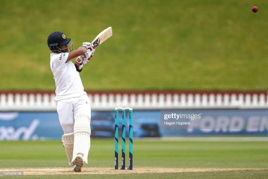 New Zealand v Sri Lanka - 1st Test: Day 5 : News Photo