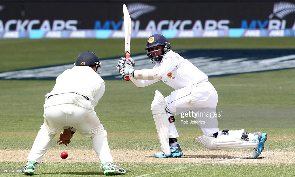 New Zealand v Sri Lanka - 1st Test: Day 4 : News Photo