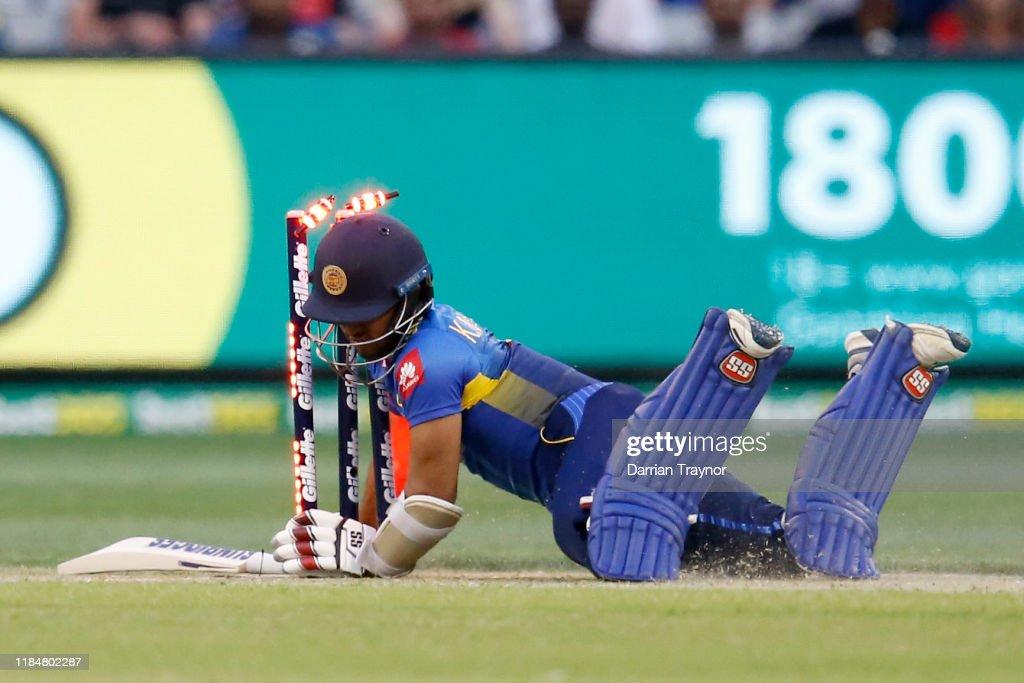 Australia v Sri Lanka - Men's T20 Game 3 : News Photo