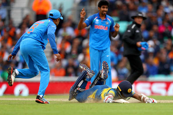 India v Sri Lanka - ICC Champions Trophy : News Photo