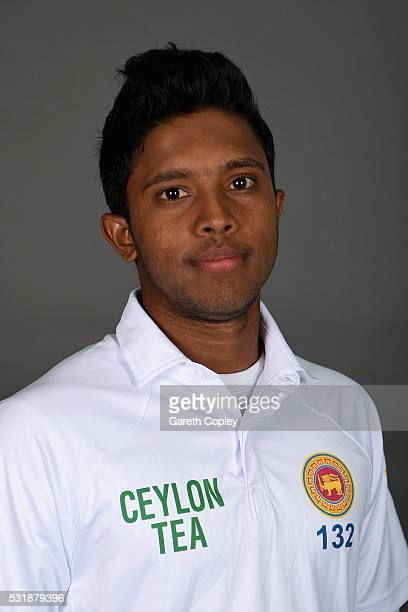 Kusal Mendis of Sri Lanka poses for a portrait at Headingley on May 17 2016 in Leeds England