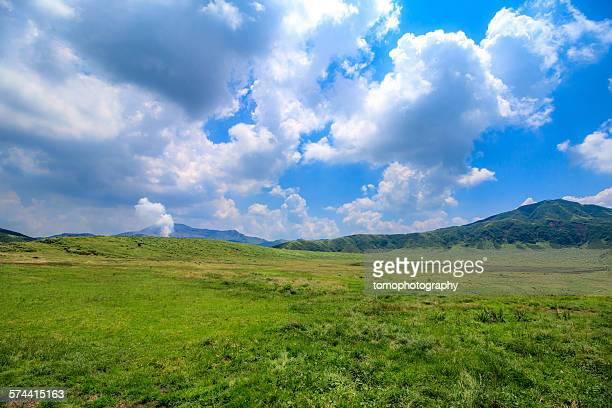 kusasenri - kumamoto prefecture stock pictures, royalty-free photos & images