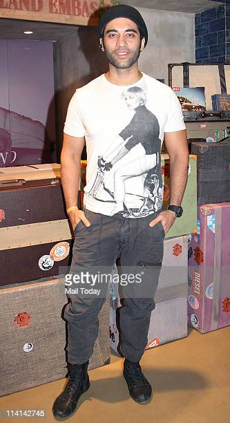 Kushal Punjabi at 'Diesel' bash at Juhu in Mumbai on May 11 2011