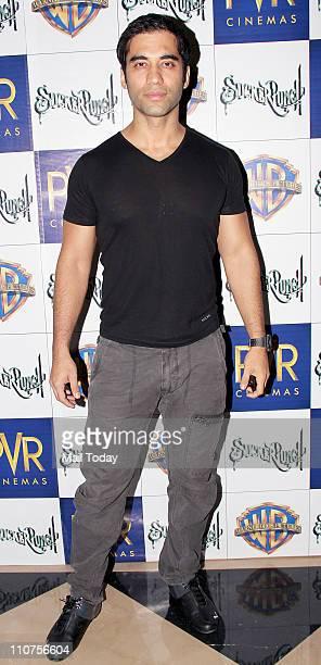 Kushal Punjabi at the premiere of film 'Sucker Punch'