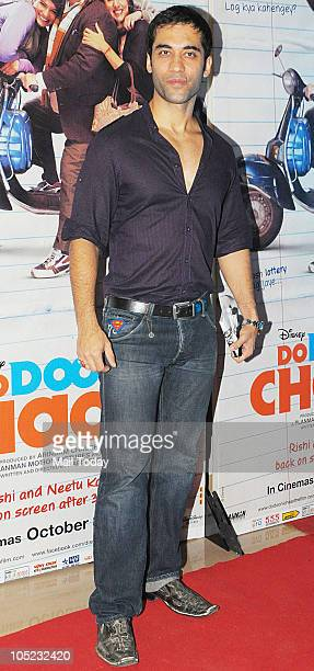 Kushal Punjabi at the premiere of the film 'Do Dooni Chaar' in Mumbai on October 7 2010