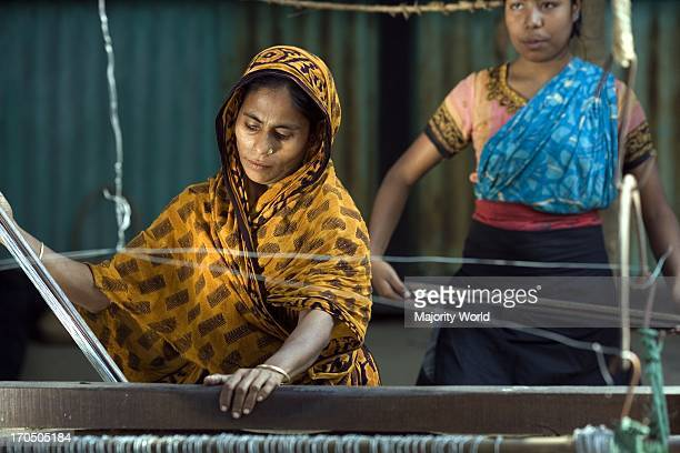 Kushum and her family from Morgapara runs a fishing net business They make 2 nets per day and sell them weekly in the markets in Imamganj and...