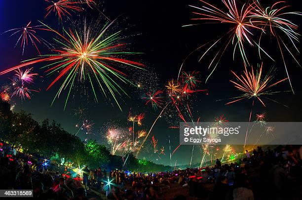 Kuta New Year Fireworks