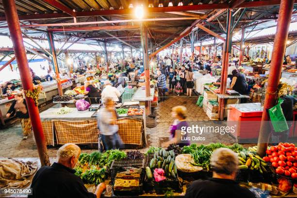 kutaisi market - dafos stock photos and pictures