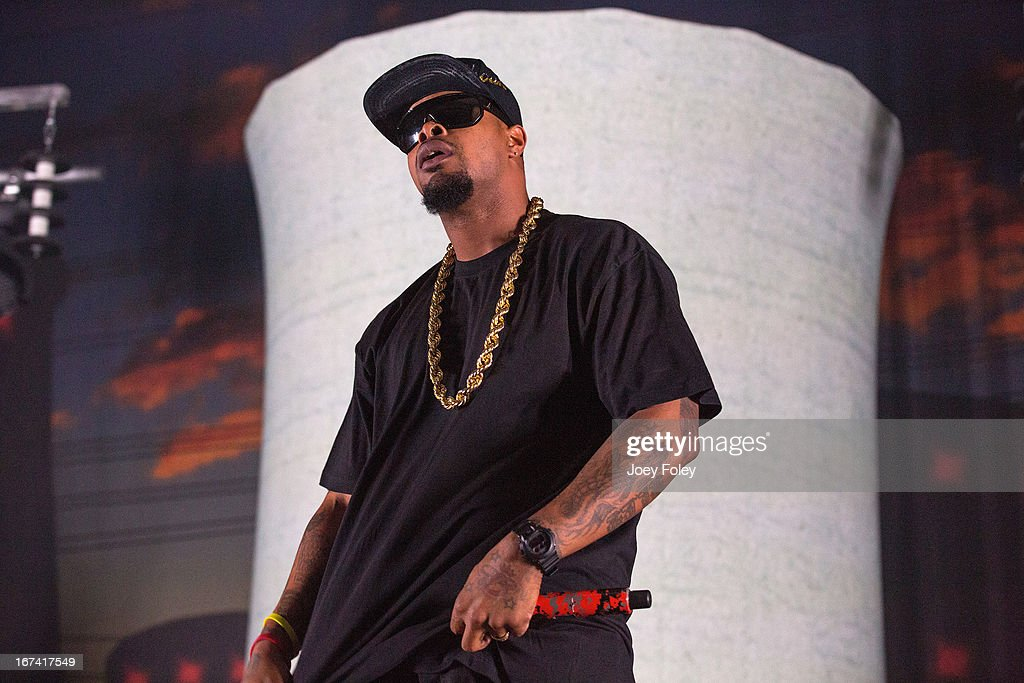 Kutt Calhoun performs onstage at the Egyptian Room at Old National Centre on April 24, 2013 in Indianapolis, Indiana.