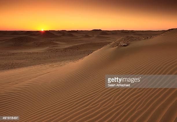 Kuwait - AlSalmi desert sunset