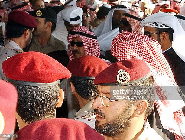 Kuwaiti Prime Minister Sheikh Sabah alAhmad alJaber alSabah attends the funeral of the late Emir of Kuwait Sheikh Jaber alAhmad alSabah who died...