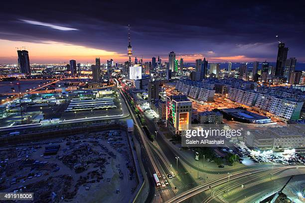Kuwait City skyline view