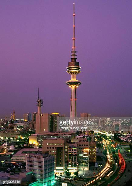 Kuwait city & the Liberation tower