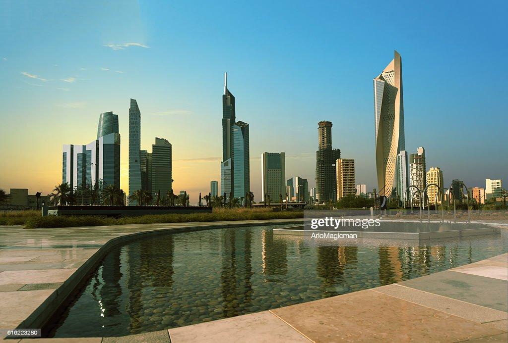 kuwait cityscape : Stockfoto