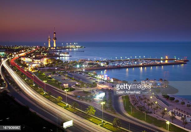 Kuwait  Gulf Road View