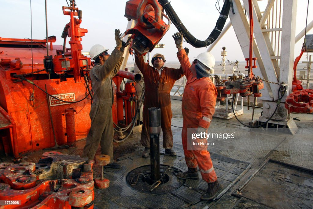 Kuwait Oil Production Continues : News Photo