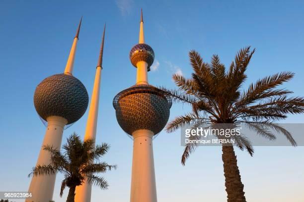 Kuwait Towers 20 février 2017 Koweit city