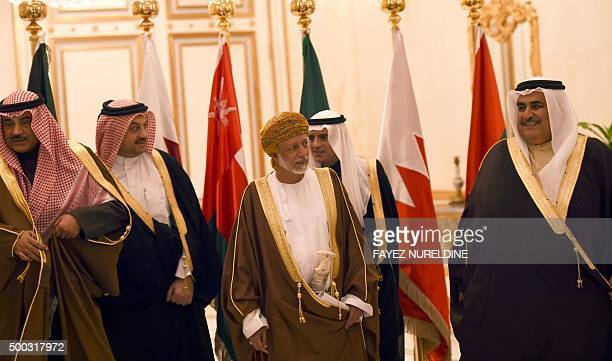 Kuwaiti Foreign Minister Sheikh Mohammad Sabah alSalem alSabah Qatari Foreign Minister Khalid bin Mohamed alAttiyah Omani Foreign Minister Yussef bin...