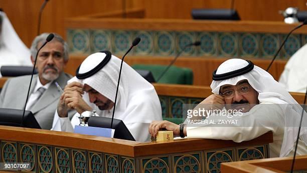 Kuwaiti Oil Minister Sheikh Ahmad Abdullah AlSabah Health Helal AlSayer And Of Public Works