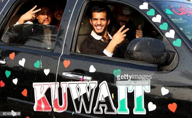 Kuwaitis celebrate the country's 57th Independence Day and the 27th anniversary of the end of the Gulf war with the liberation of Kuwait from Iraqi...
