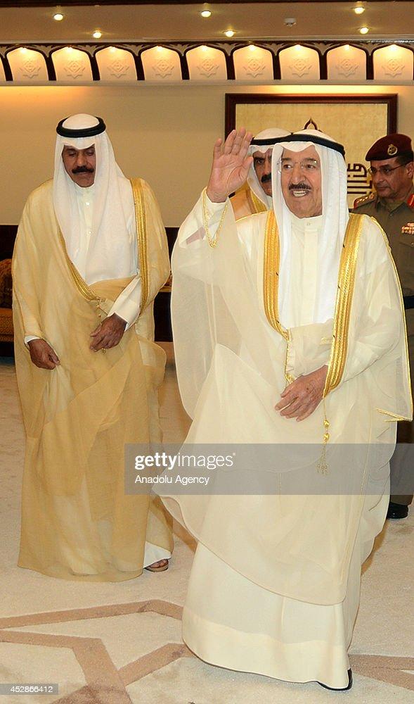 Kuwait's Emir performs Eid al-Fitr prayer : News Photo